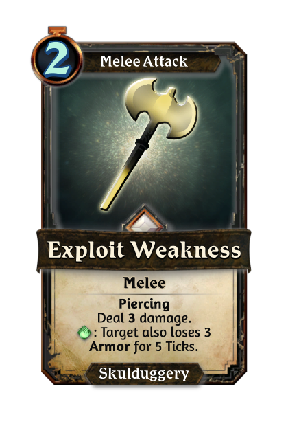 Exploit Weakness