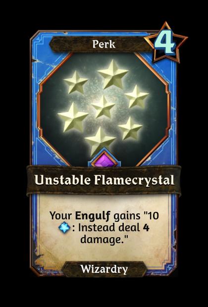 Unstable Flamecrystal