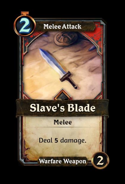 Slave's Blade