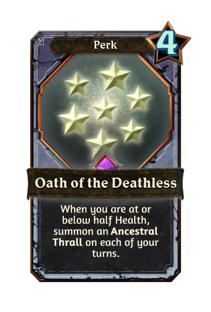 Oath of the Deathless