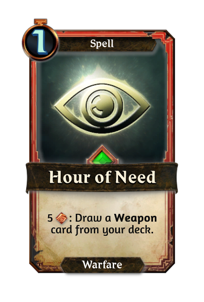 Hour of Need