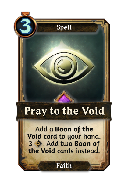 Pray to the Void