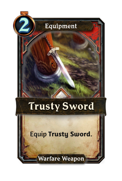 Trusty Sword