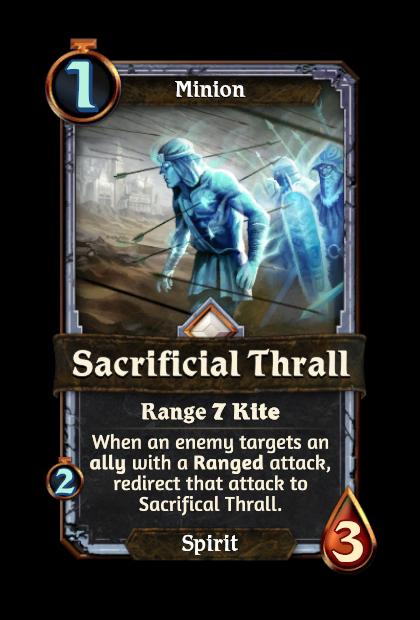 Sacrificial Thrall