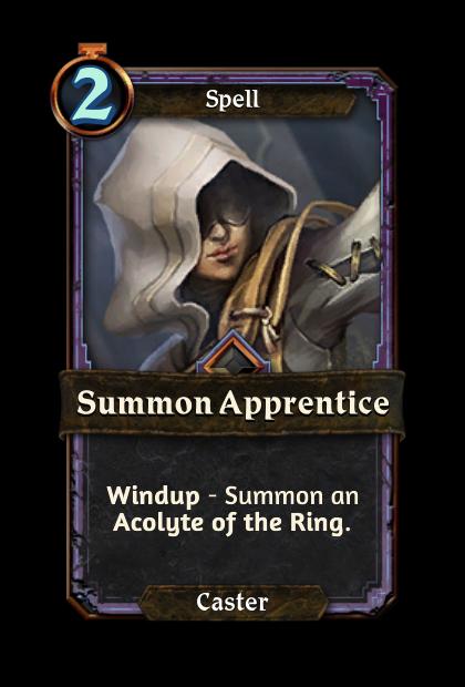 Summon Apprentice