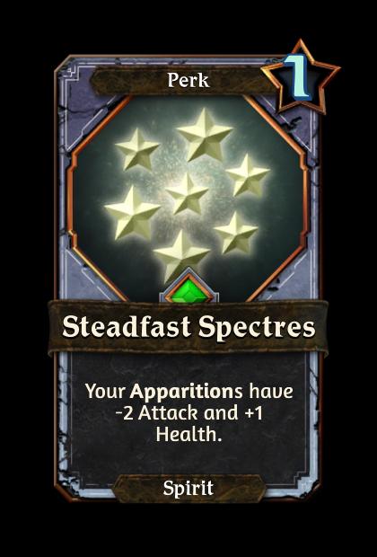 Steadfast Spectres