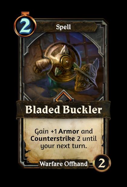 Bladed Buckler