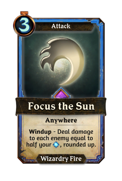 Focus the Sun