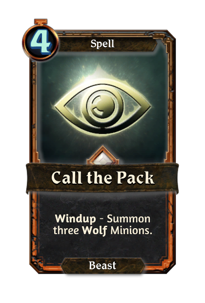Call the Pack