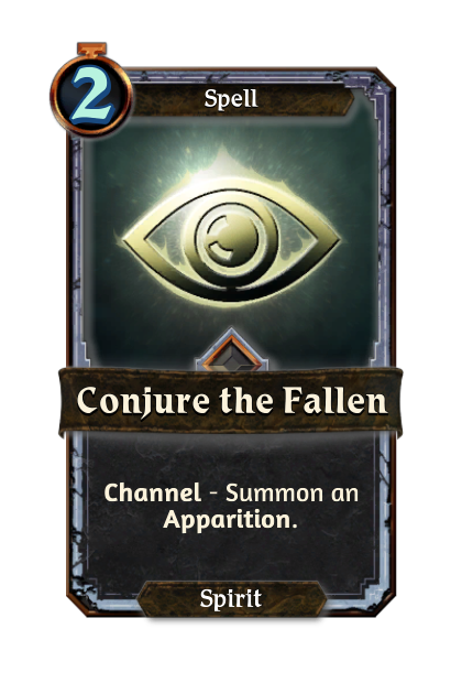 Conjure the Fallen