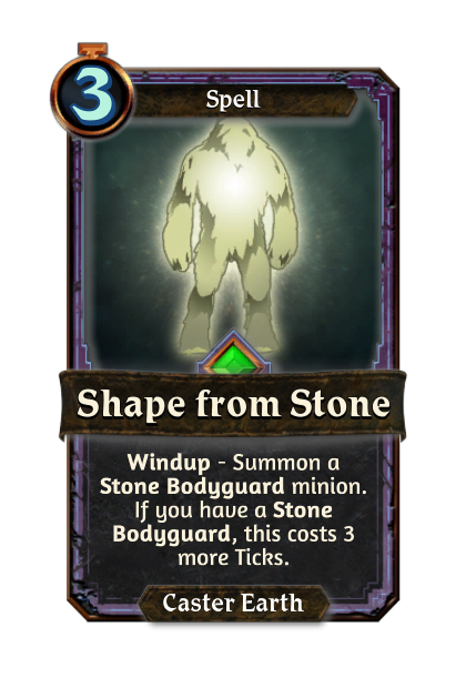 Shape from Stone