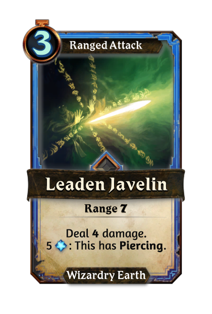 Leaden Javelin