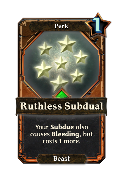 Ruthless Subdual