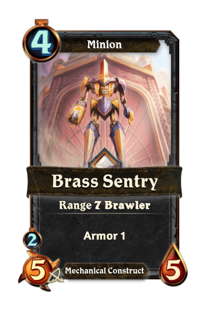 Brass Sentry