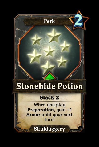 Stonehide Potion