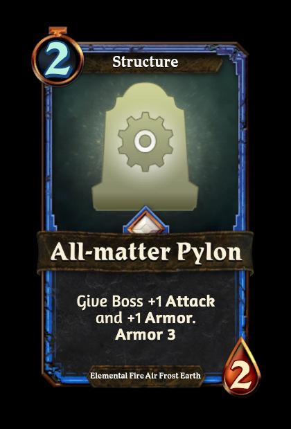 All-matter Pylon