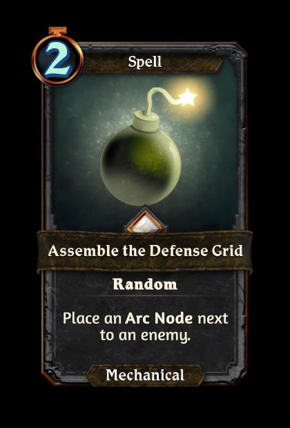 Assemble the Defense Grid