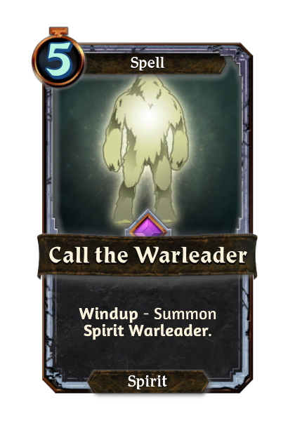 Call the Warleader