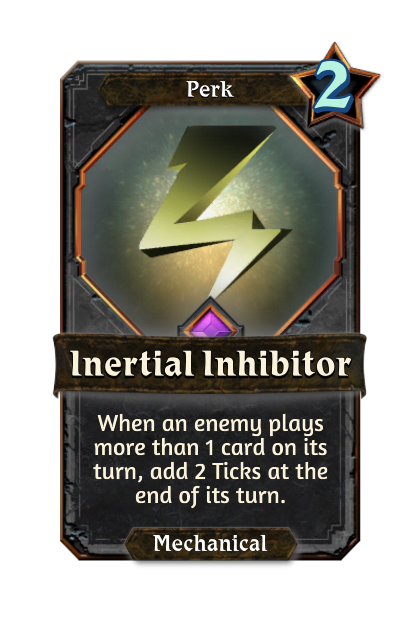 Inertial Inhibitor