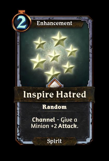 Inspire Hatred