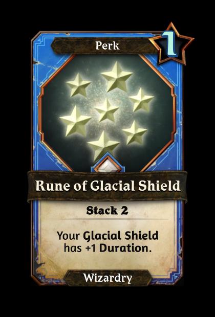 Rune of Glacial Shield
