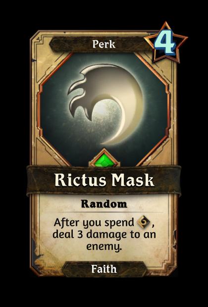 Rictus Mask