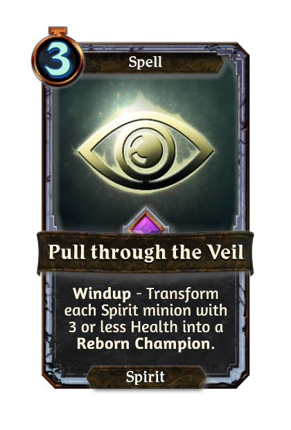 Pull through the Veil
