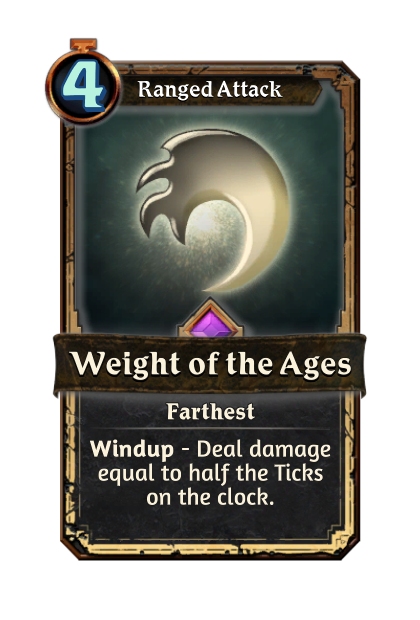 Weight of the Ages