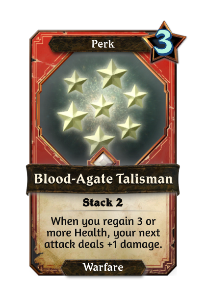 Blood-Agate Talisman