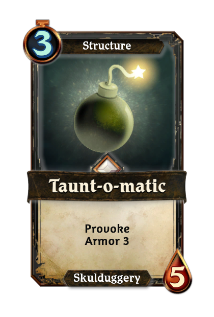 Taunt-o-matic