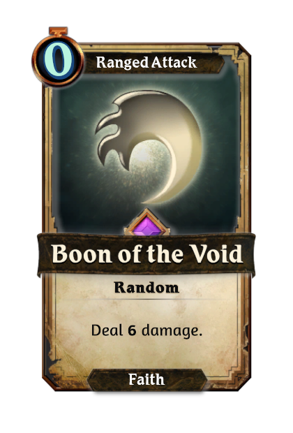 Boon of the Void