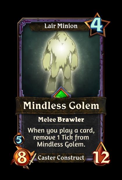 Mindless Golem