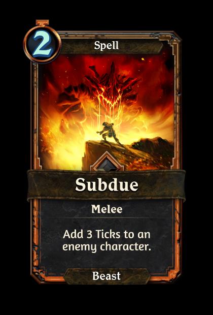 Subdue