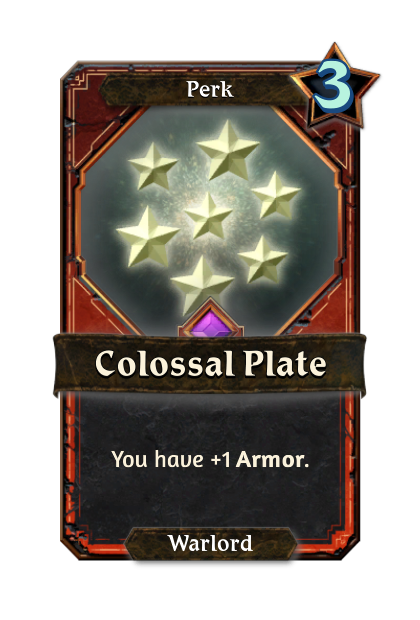 Colossal Plate