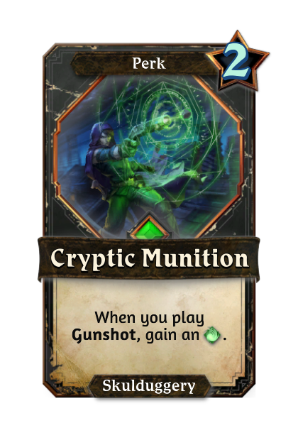 Cryptic Munition