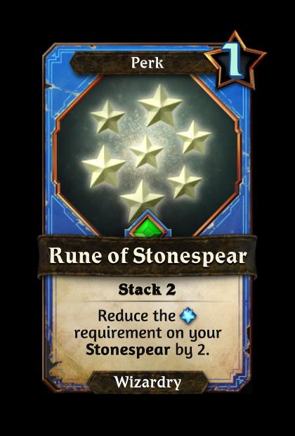 Rune of Stonespear