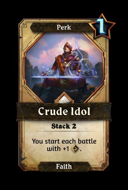 Crude Idol