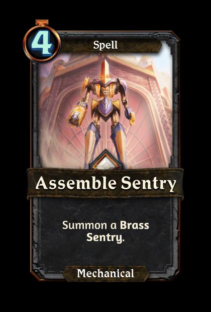 Assemble Sentry