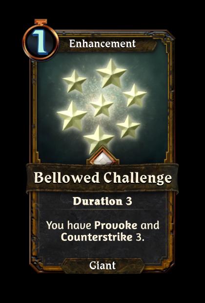 Bellowed Challenge