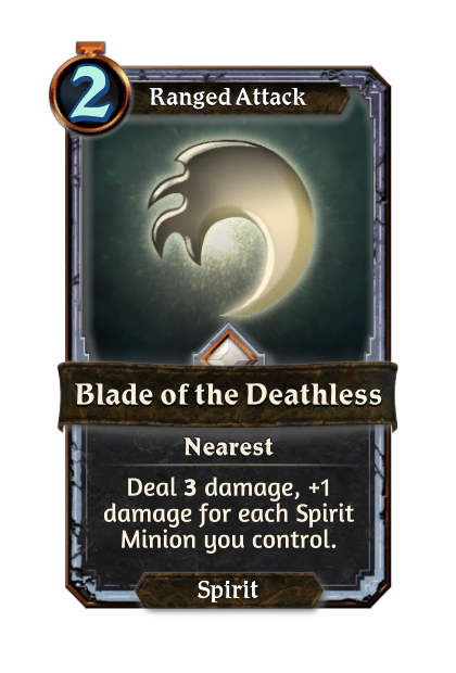 Blade of the Deathless