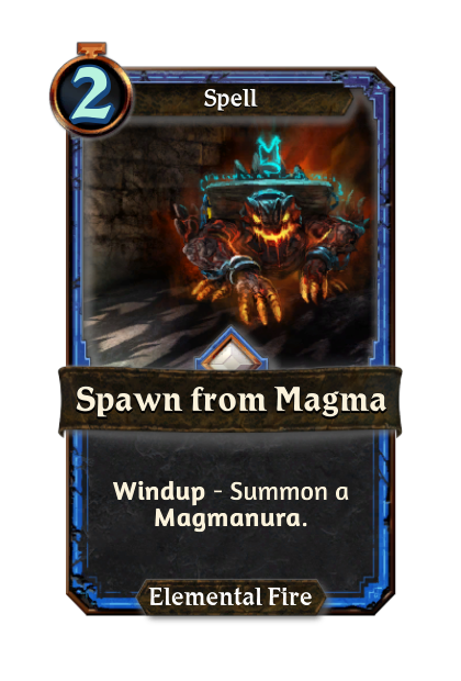 Spawn from Magma