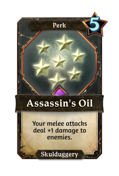 Assassin's Oil