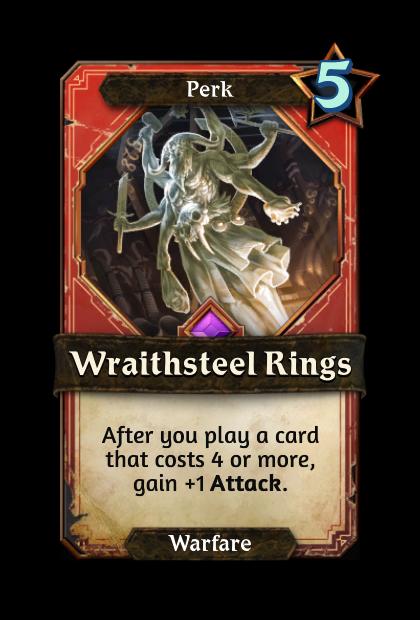 Wraithsteel Rings