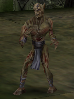 A fledgling Melchahim in Legacy of Kain Soul Reaver.