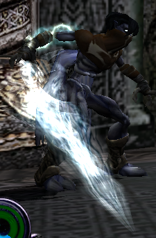Raziel with the Spirit Reaver in Defiance
