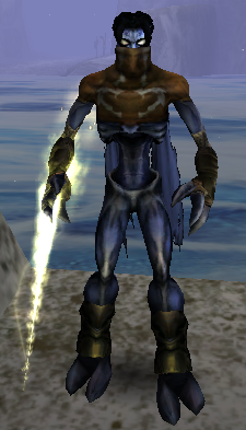 Raziel with the Light Reaver in Soul Reaver 2