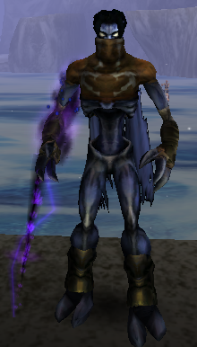 Raziel with the Dark Reaver in Soul Reaver 2