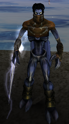 Raziel with the Air Reaver in Soul Reaver 2