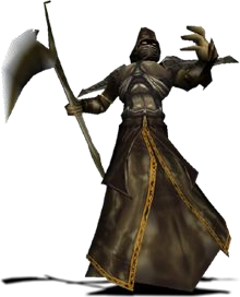 Promotional image of a Prison Guardian in Blood Omen 2.