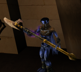 Raziel with a Light Forge Halberd Soul Reaver 2
